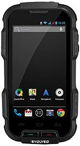 """Evolveo StrongPhone Q4 4GB Negro - Smartphone (10,16 cm (4""""), 480 x 854 Pixeles, IPS, 1,2 GHz, Brazo, A7)"""