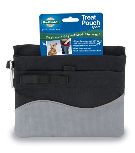 (PetSafe Treat Pouch Sport- Durable, Convenient Dog Training Accessory )