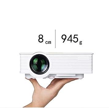 LED Home Mini Mini Proyector Home Proyector HD 1080p: Amazon ...