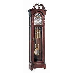 Ridgeway 2060 Morgantown Grandfather Clock, Glen Arbor Cherry
