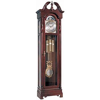 Amazon com: Ridgeway 2504 Lynchburg Grandfather Clock, Glen