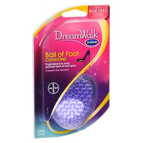 Dr. Scholl's DreamWalk Ball of Foot Cushion 1 pair (Pack of 6) by Dr. Scholl's