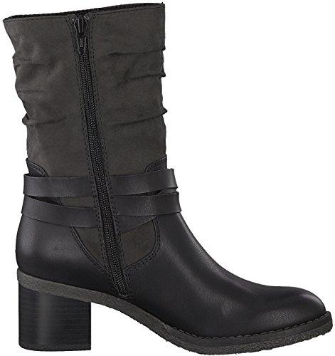 Boots Blockabsatz Halbstiefel 21 Damen Bikerstiefelette 25315 Nieten s Bootie Stiefel Oliver Biker Stiefelette Frauen 5cm qtBOAwxpW