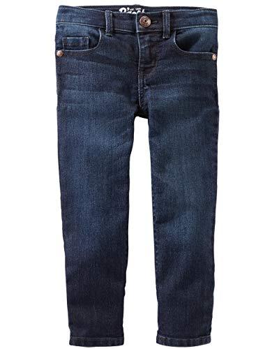 Osh Kosh Girls' Toddler Skinny Denim, Heritage Rinse, 5T ()