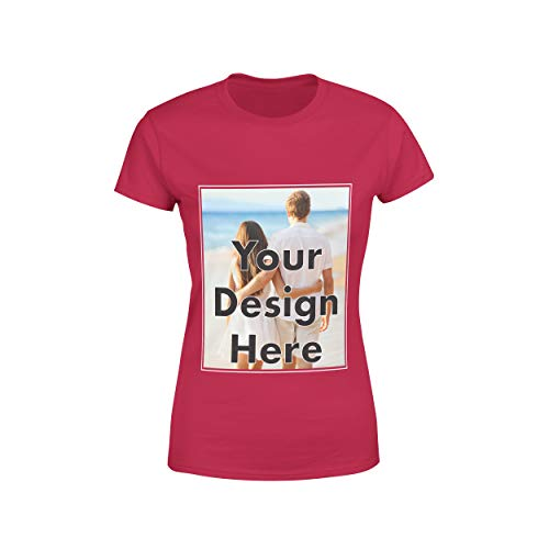 - Arokan Customize Shirts for Women Men Custom T Shirts Design Your Own Crew Neck Mens Womens Personalized Tshirts (Cherry Red, Small)