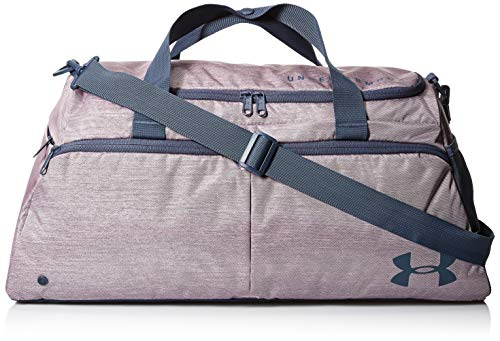 Under Armour Women's Undeniable Duffel Gym Bag – Small, Pink Fog//Downpour Gray, One Size Fits All