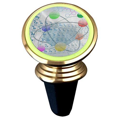 Magnetic Car Holder Rotation Universal Atomic Element Periodic Table Chemistry Custom Adjustable 360˚ Rotation Universal Car Mount Cell Phone Stand for Phone X/6/6s/7/8/8 Plus/7