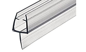 Gedotec® Glass Door Shower Door Seal Sealing Lip Seal Shower Seal for Shower Doors from