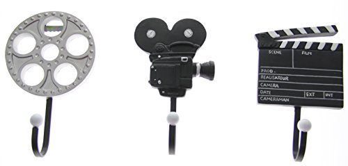 JustNile Cute Coat/Robe and Hat Wall Hook - 3-Piece Set Filmmaking Tools