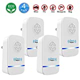 U-miss Ultrasonic Pest Repeller, Electronic Pest Repellent [2018 Upgraded] Plug in - Insects Repellent - Repels Mice, Bed Bugs, Mosquitoes, Spiders - Human/Pet Safe (Square, 4 pcs)