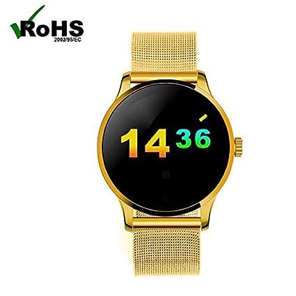 Bluetooth Móviles Reloj Extensión Smartwatches Relojes Deportivo Pulsómetros/ Contador de Calorias/Monitor de Sueño