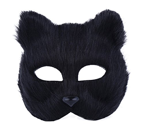 Cuidress Duidress Full Face Halloween Cute Animal Mask Head Feather Theater Prop Party Mask Christamas