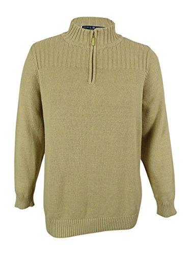 Zip Mock Turtleneck Sweater - 4