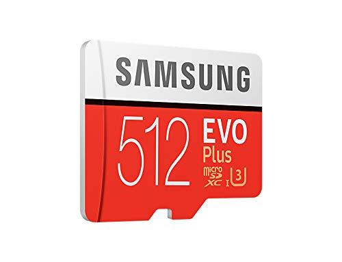 Samsung evo plus class 10 micro sdxc with adapter, 512gb (mb-mc512ga) 3 mb-mc512ga_eu