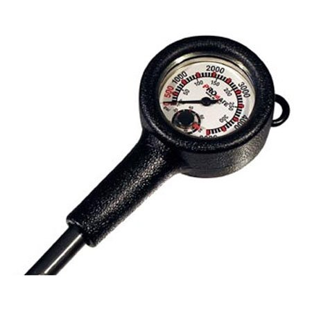 Promate Scuba Diving Gauge Console Tank Pressure Temperature (Made in Italy)