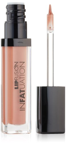 FusionBeauty InFATuation Liquid Plumping Lipstick, In The Flesh (Instant Lip Plumper)