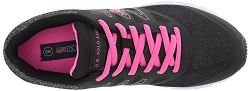 S Fuchsia Women's Black Polo Fashion Assn Sneaker Janelle Women's U SgwqdCw