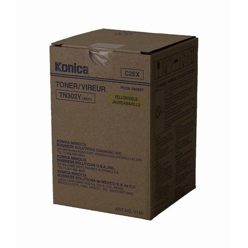 Konica Minolta 8031 OEM Yellow Toner Cartridge by Konica-Minolta