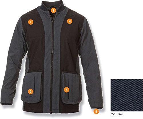 Beretta Waterproof Shooting Jacket, Large, Blue