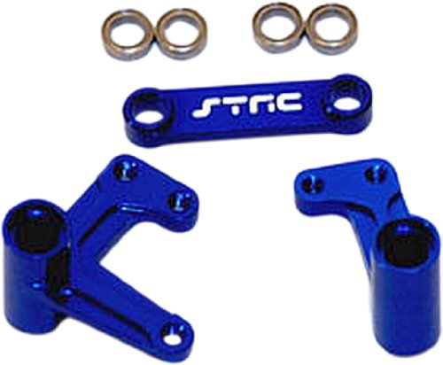 S & T RACING INC ST Racing Bellcrank Set with Bearings for Traxxas Rustler, Bandit, and ()