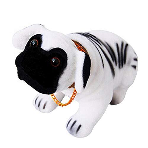 Decorative Shook Head Puppy Doll Resin Ornaments Bobble Head Car Dog, I