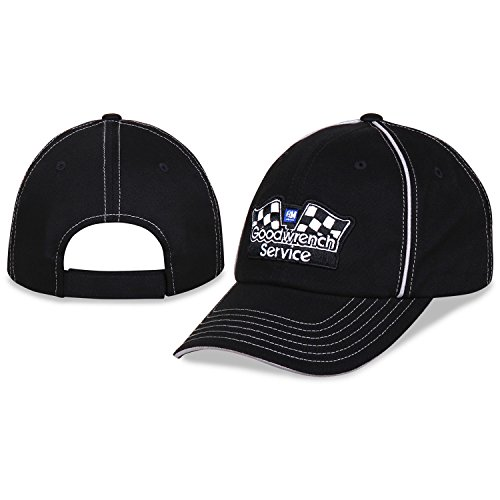 Gm Goodwrench Racing - GM Goodwrench Service Hat Cap Black - Bundle - 2 items: One Hat and One Racing Decal