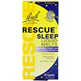 Bach Rescue Natural Sleep Remedy, Liquid Melts, 28 count