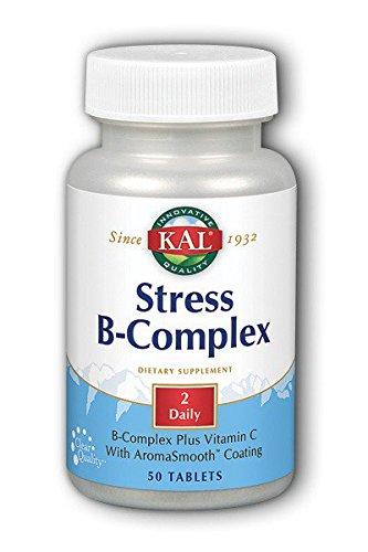 KAL - Stress B Complex - 50 tablets (50 B-complex Tab Stress)