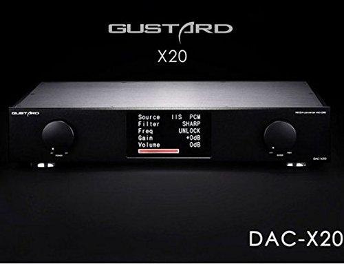GUSTARD DAC-X20 XMOS HiFi DAC 384KHz DSD DOP Decoder with USB