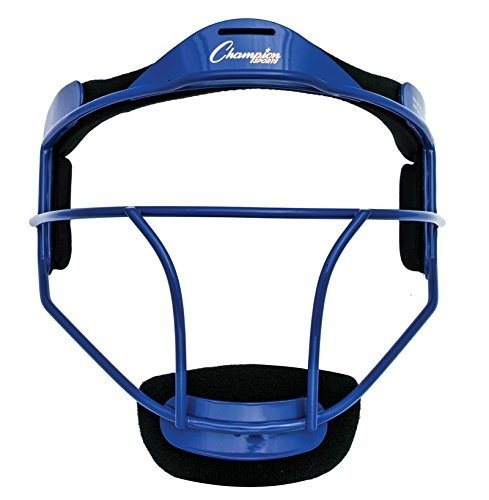 Champion Sports Youth Softball Fielder's Face Mask, Blue