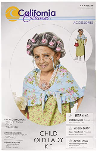 California Costumes Old Lady Kit - Child]()
