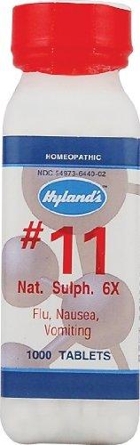 Nat Sulph 6x (500Tablets) Tissue Salt (Cell Salt) Brand: Hylands (Standard Homeopathic)