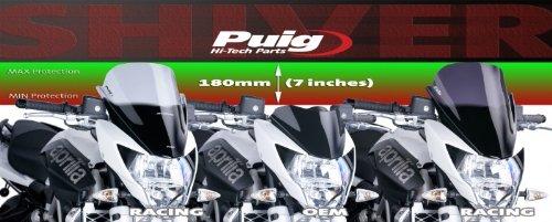 Fum/é Puig 5249h Racing /écran pour Aprilia Shiver 750/2010 Medium 2014 2014//Shiver 750/ABS 2010