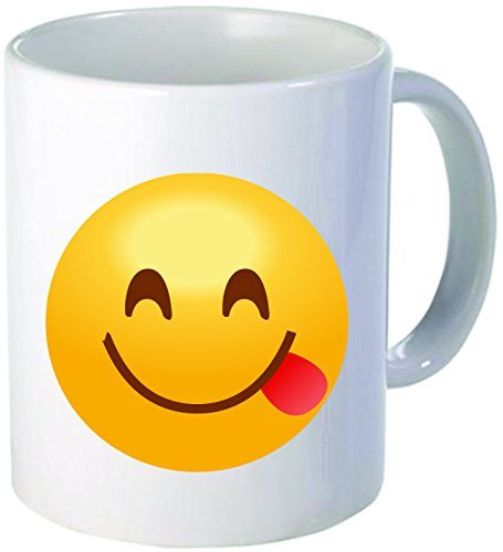 Emoji Smiley Mug - 11 ounce