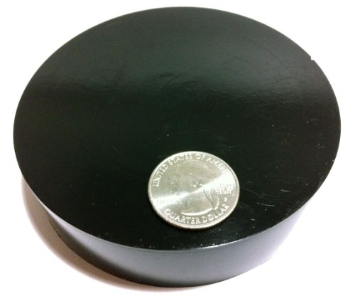 Isolate It: Sorbothane Vibration Isolation Circular Pad 50 Duro (1'' Thick 4'' Dia.) - 4 Pack by Isolate It! (Image #1)