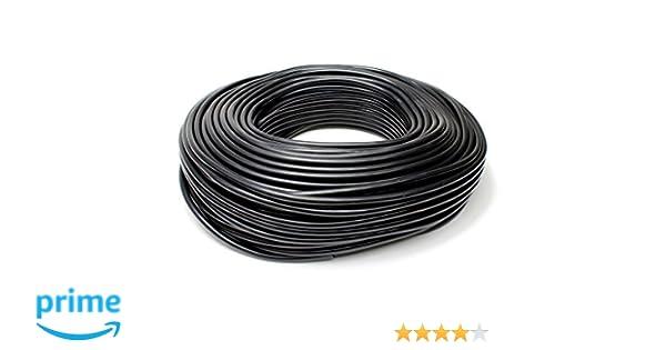 40 psi Maxium Pressure, 3//8 ID HPS HTSVH95-BLK Black 1 Length High Temperature Silicone Vacuum Tubing Hose 3//8 ID