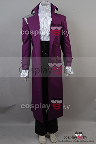CosplaySky Purple Rain Costume Prince Rogers Nelson Halloween Full Set XX-Large by Cosplaysky (Image #1)