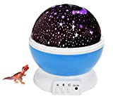 Star Night Light Projector HOWADE LED Night lighting Lamp Romantic Projection With Moon, Star,Sky - Best Gift for Men Women Teens Kids Children Sleeping Aid