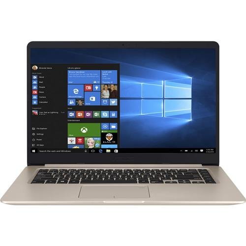"ASUS VivoBook S 15.6"" Full HD Laptop, Intel i7-7500U 2.7GHz, 8GB RAM, 128GB SSD + 1TB HDD, Windows 10, Fingerprint Sensor, Backlit - Finger Outlet Lakes"