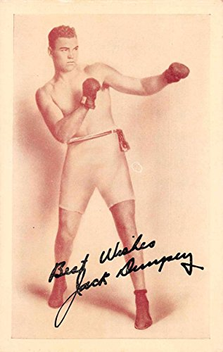 New York City Jack Dempsey's Restaurant Advertising Antique Postcard J72488 Jack Dempsey Memorabilia