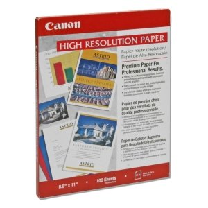 Canon High Resolution Paper - Letter - 8.5