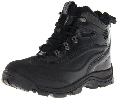 Columbia Mens Buga Plus Chukka Snow Boot Nero / Carbone
