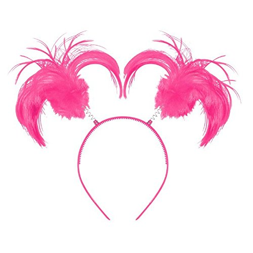 Pink Ponytail Headband, Party Accessory
