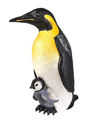 Safari Ltd  Incredible Creatures Emperor Penguin with Baby (Baby Penguin Figurine)