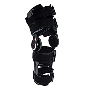 Donjoy Orthopedic Hinged Knee Brace - Knee Surgery Ligament Support X-Act Post Op 8