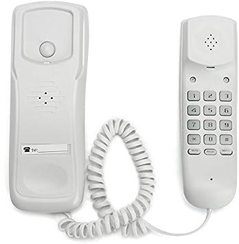 Versión en inglés Blanco Montaje de Pared Home inalámbrico teléfono teléfono Empresa Home Office teléfono de Escritorio: Amazon.es: Electrónica