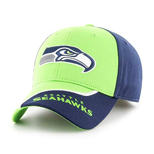 NFL Seattle Seahawks Sprout OTS All-Star Adjustable Hat, Light Navy, Kid's