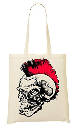 Sac Fourre Provisions Mohawk Punk Skull À Sac Tout 6HPv1qX
