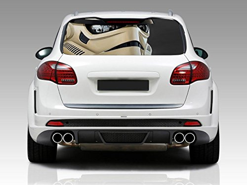 STORMTROOPER Star Wars Car Rear Window Graphic Decal Stic...