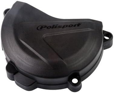 POLISPORT – Cubierta para embrague Protección Negro para KTM 150 XC-W (CV) 2017 – 2018